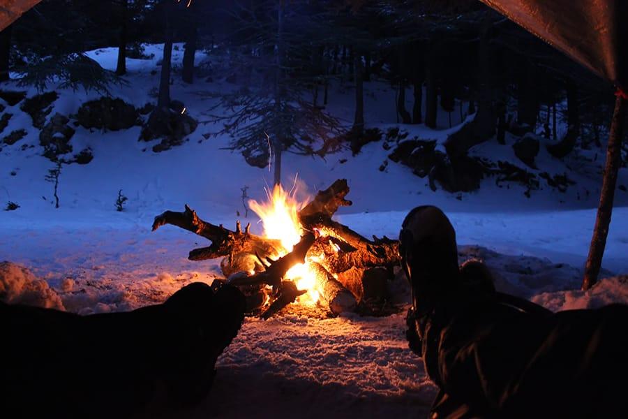bål i skogen 900x600, å tenne et bål, bålfyring