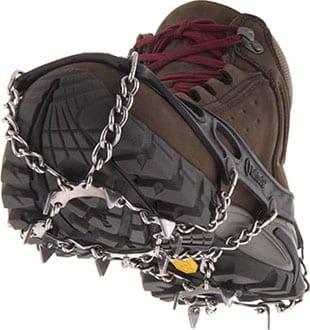 Løse brodder på skoene