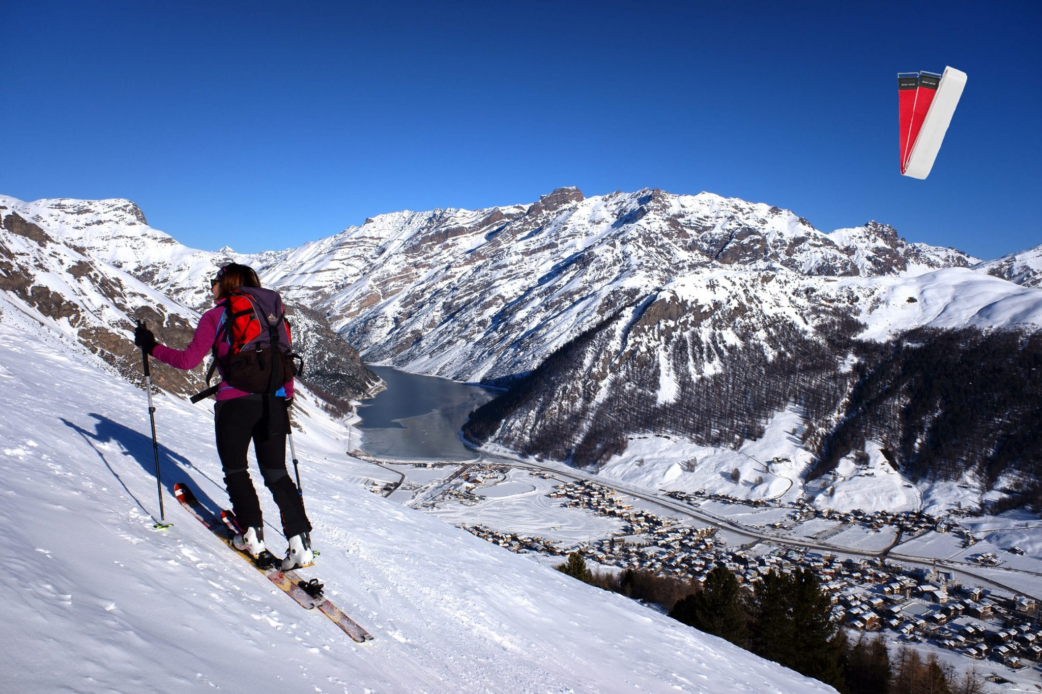 skifeller til turbruk, Bytte lim på skifellene, Vedlikehold av skifeller, Å sette på skifeller