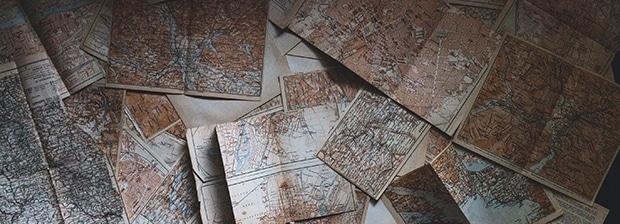 Større turkart, nye turkart, 1: 100 000, Større målestokk, målestokk 1: 100 000