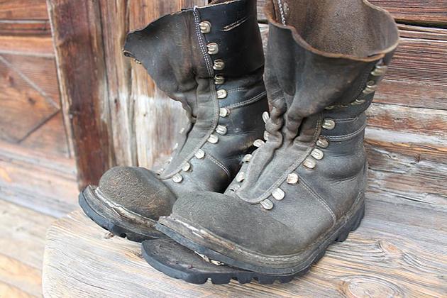 Gamle sko, Vedlikehold av tursko, impregnering av tursko