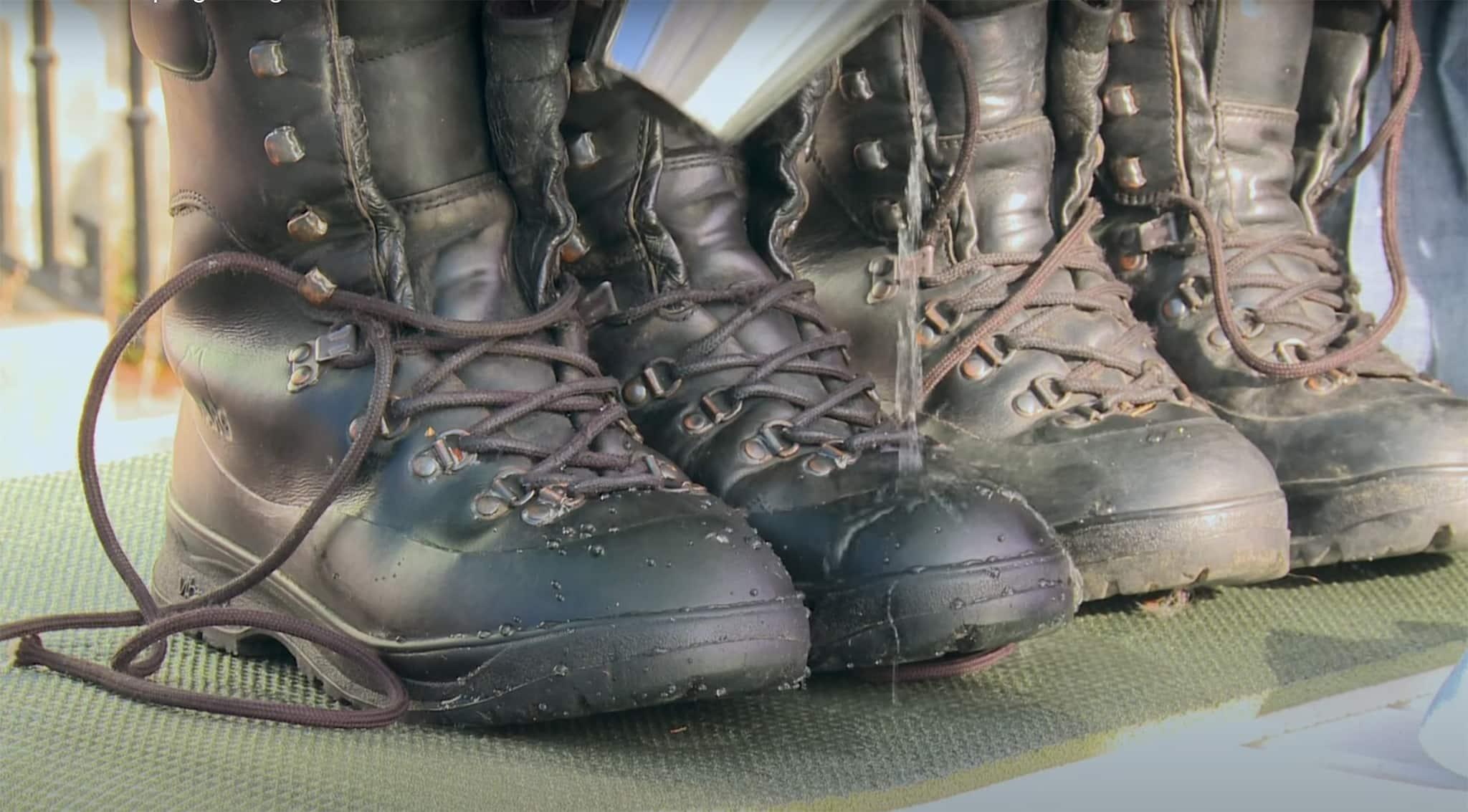 impregnering av tursko, gå inn turskoene, Vedlikehold av Gore-Tex sko