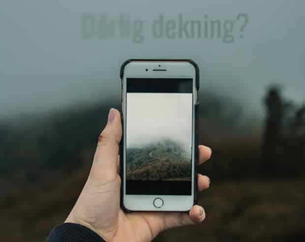 De mobile fjellvettreglene, Mobilbruk på tur